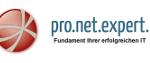 Das pro.net.expert. GmbH Firmenlogo - Netzwerktechnik und IT-Infrastruktur