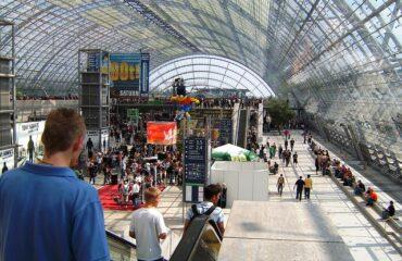 Messestand auf der Expo in Leipzig