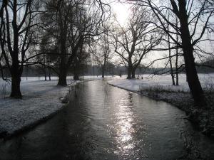 Der Eisbach im Englischen Garten