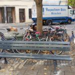 Product Placement Augustiner LKW am Gärtnerplatz