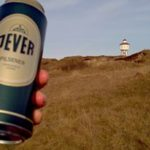 Product Placement Ein frisches, herbes Jever auf Langeoog.