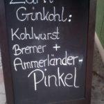 Grünkohl und Pinkel in München
