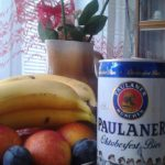 Product Placement Paulaner Dosenbier im, Stilllebe.