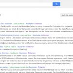 Backlinks auf Social Bookmarks erstellen mit Google
