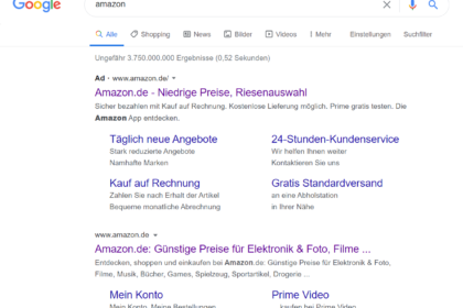 Rich Snippets Amazon